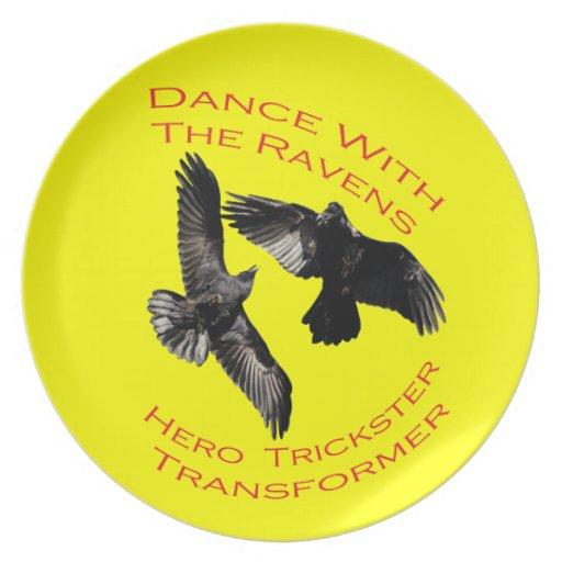 Raven the Transformer Plates
