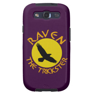Raven The Trickster Galaxy S3 Cases