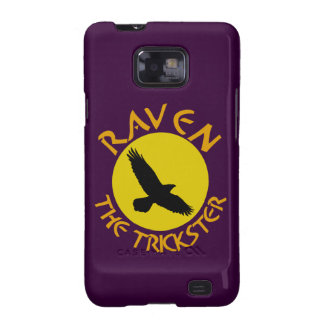 Raven The Trickster Galaxy S2 Covers