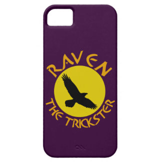Raven The Trickster iPhone 5 Funda
