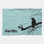 Raven Towel