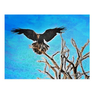 Raven tree post cards