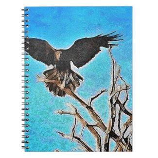 Raven Tree Spiral Note Books