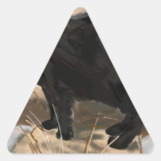 Raven Triangle Sticker