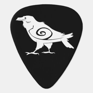 Raven Tribal Guitar Picks Pick