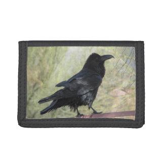 Raven Trifold Wallets