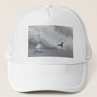 Raven & Weather Vane Shirt Trucker Hat