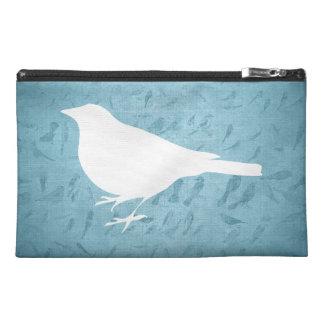 Raven White Silhouette Travel Accessories Bags