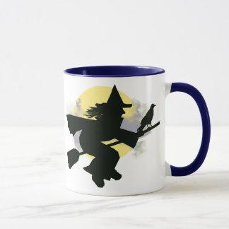 raven & witch mug