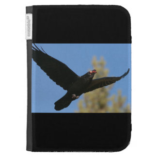 Raven with Bison Kindle Cover