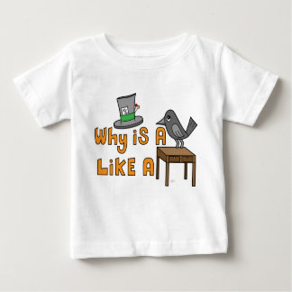 Raven Writing Desk - Infant T-Shirt