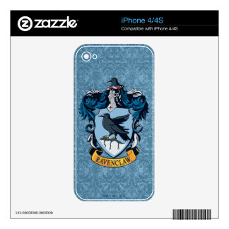 Ravenclaw Crest Decals For The iPhone 4S