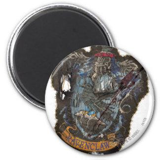 Ravenclaw Crest - Destroyed 2 Inch Round Magnet