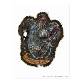 Ravenclaw Crest - Destroyed Postcard