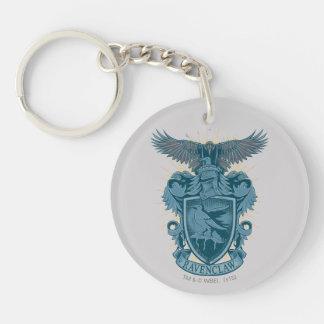 RAVENCLAW™ Crest Double-Sided Round Acrylic Keychain