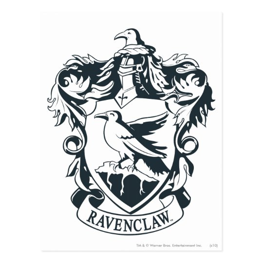 Ravenclaw Crest Postcard Zazzle