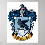 Ravenclaw Crest Poster
