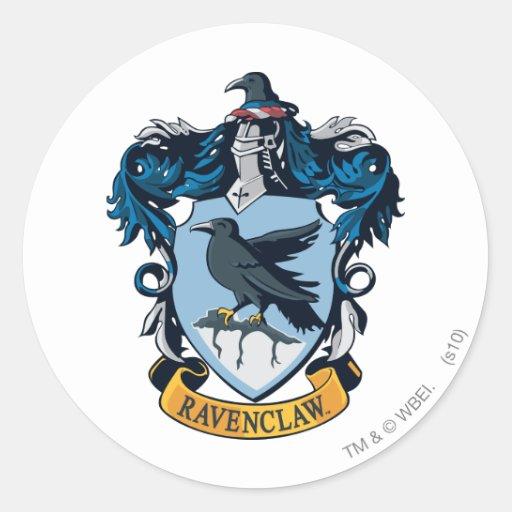 Ravenclaw Crest Classic Round Sticker Zazzle