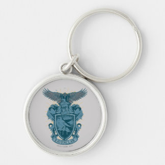 RAVENCLAW™ Crest Silver-Colored Round Keychain