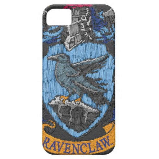 Ravenclaw Destroyed Crest iPhone 5 Case