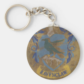 Ravenclaw Painting Basic Round Button Keychain