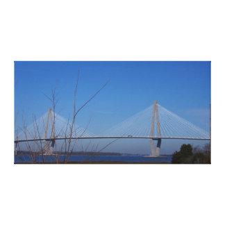 Ravenel Bridge, Charleston, SC Canvas Print