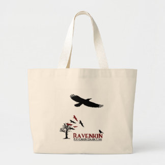 Ravenkin holgado bolsa tela grande