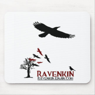 Ravenkin Not A Cat Toy Mouse Pad