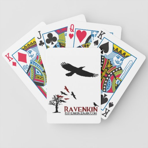 Ravenkin Novelty Bicycle Playing Cards