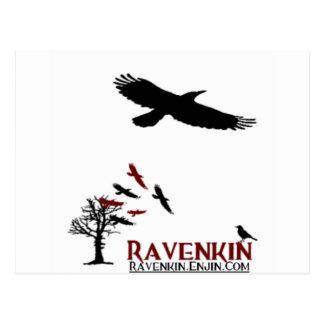 Ravenkin Novelty Postcard