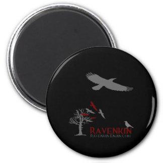 Ravenkin Shadow Collection 2 Inch Round Magnet