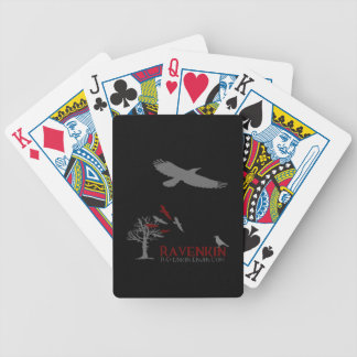 Ravenkin Shadow Collection Bicycle Playing Cards