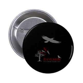 Ravenkin Shadow Collection Pinback Button