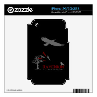 Ravenkin Shadow Collection Skins For iPhone 2G