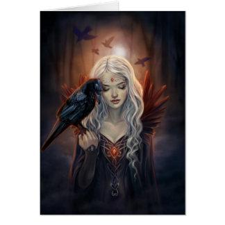 Ravenkin Tarjeta De Felicitación