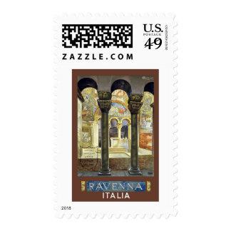 Ravenna Italia Vintage Travel Stamps