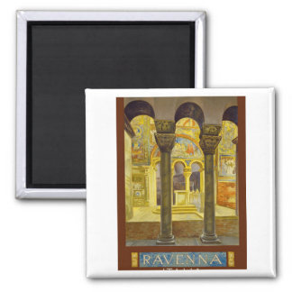 Ravenna Italy Poster 2 Inch Square Magnet