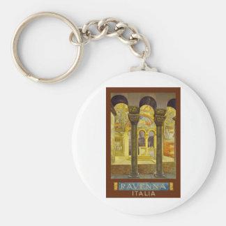 Ravenna Italy Poster Keychain