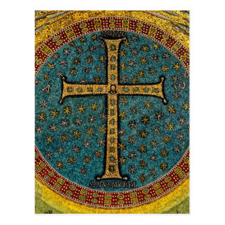 Ravenna Mosaic Cross Postcard