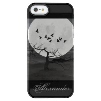 Ravens Against the Full Moon Uncommon Clearly™ Deflector iPhone 5 Case