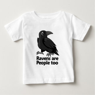 Ravens are People too Baby T-Shirt