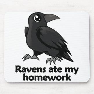 Ravens ate my homework mouse pad