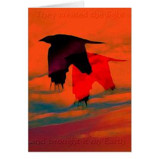 Ravens Card
