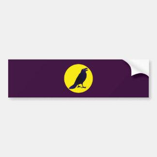Ravens crow raven crow bumper sticker