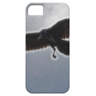Raven's Descent Fractal Print iPhone SE/5/5s Case