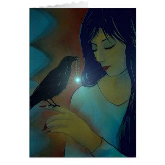 Ravens Disciple Greeting Cards