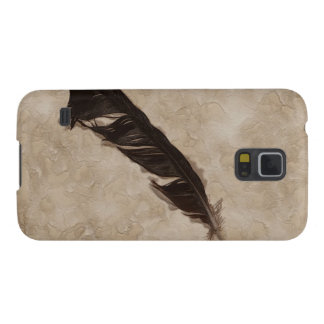 Raven's Feather Bird-lover Crow design Galaxy S5 Cover