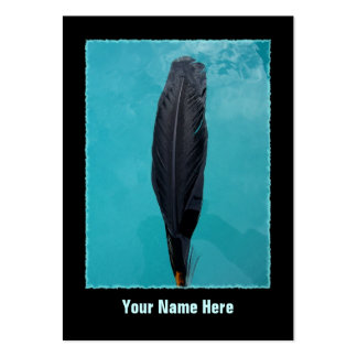 Raven's Feather Large Business Cards (Pack Of 100)