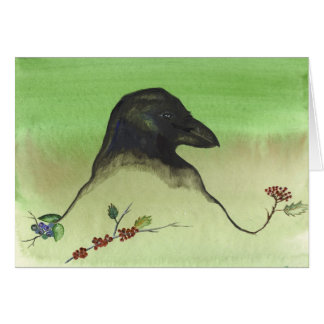 Raven's Harvest Berries Card