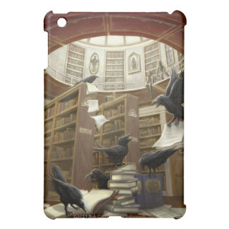 Ravens in the Library Ipad Case